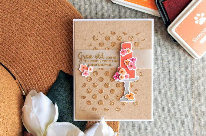 Simon Says Stamp | Wedding Cake Card