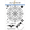 Altenew Arabesque Medallion Stamp Set