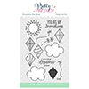 Pretty Pink Posh Fly A Kite Stamp Set