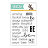 Simon Says Clear Stamps Be Sentiments