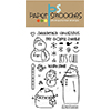 Paper Smooches Swanky Snowdudes Stamp Set