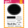 WPlus9 Basic Labels Stamp Set