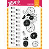WPlus9 Citrus Background Builders Stamp Set