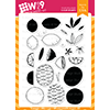 WPlus9 Summer Citrus Stamp Set
