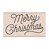 Hero Arts Rubber Stamp Merry Christmas Script