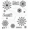 PTI Silver White Winters Stamp Set