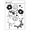 Right at Home Anemone Clear Stamp