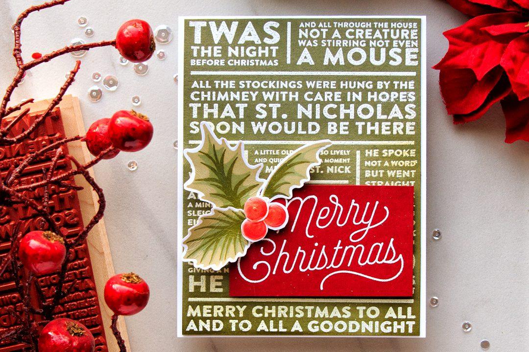 Hero Arts | Merry Christmas Card
