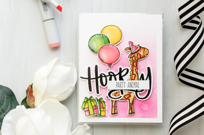 Neat & Tangled | Hooray! Party Animal! Birthday Card