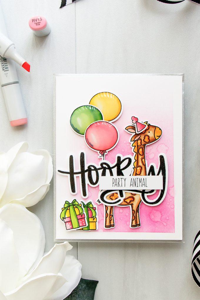 Neat & Tangled | Hooray! Party Animal! Birthday Card