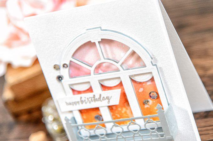 Spellbinders | Decorative Flower Box Birthday Card
