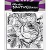 Brutus Monroe Enchanted Rose Background Stamp