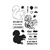 Hero Arts Color Layering Squirrel Stamp Set