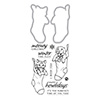 Hero Arts Fluffy Stockings Stamp & Cut