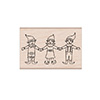 Hero Arts Three Happy Elves Stamp