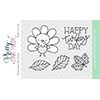Pretty Pink Posh Happy Turkey Clear Stamp Set