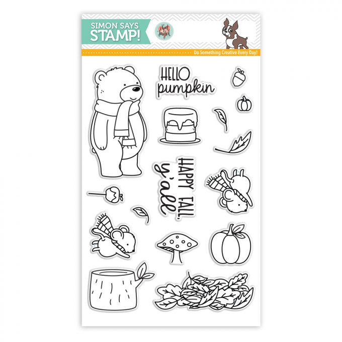 It's STAMPtember! | Neat & Tangled Exclusive – Hello Pumpkin. Happy Fall Y'all Card by Yana Smakula