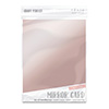 Tonic Burnished Rose Mirror Card Satin Effect Cardstock