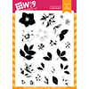 WPlus9 Hellebore Builder Stamp Set