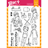 WPlus9 The Crew Garden Club Stamp Set