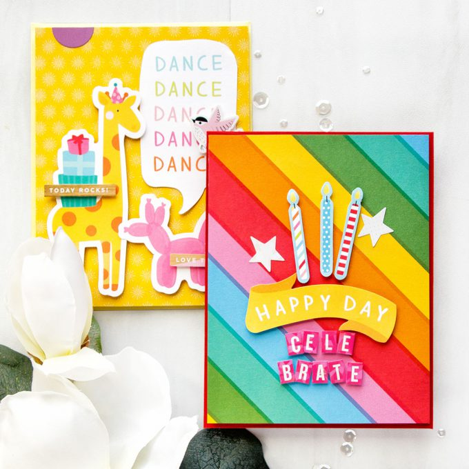 Simon Says Stamp | Birthday and Celebration Cards with STAMPtember Kit