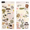 Pebbles Inc. Jen Hadfield Accent Stickers Heart of Home