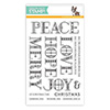Simon Says Clear Stamps Stained Glass Greetings