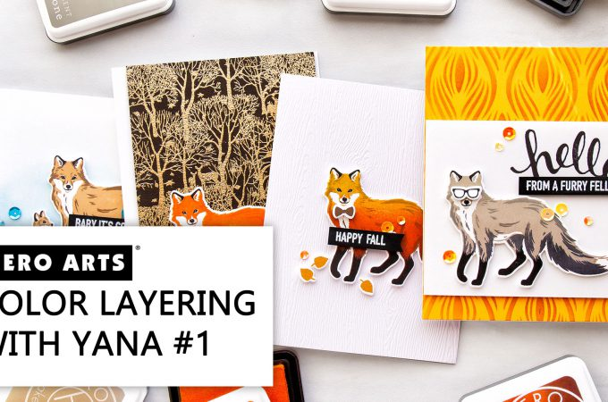 Hero Arts | Color Layering With Yana Video Series - Color Layering Fox 4 Ways