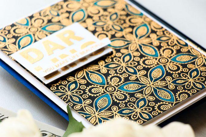 Simon Says Stamp   You Make Life Beautiful Pencil Colored Card by Yana Smakula