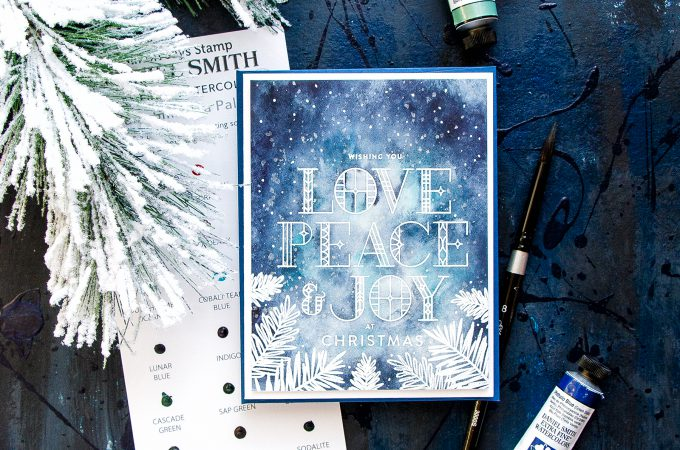 Simon Says Stamp | Christmas Night in Watercolors. Video