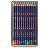 Derwent 12 Inktense Colored Pencils Watercolor