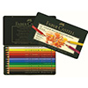Faber-Castell Polychromos Colored Pencils 12 Piece Set