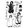 Hero Arts Clear Stamps Color Layering Baby Penguin