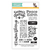 Simon Says Clear Stamps Peace on Earth