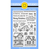 Sunny Studio Christmas Home Clear Stamp Set
