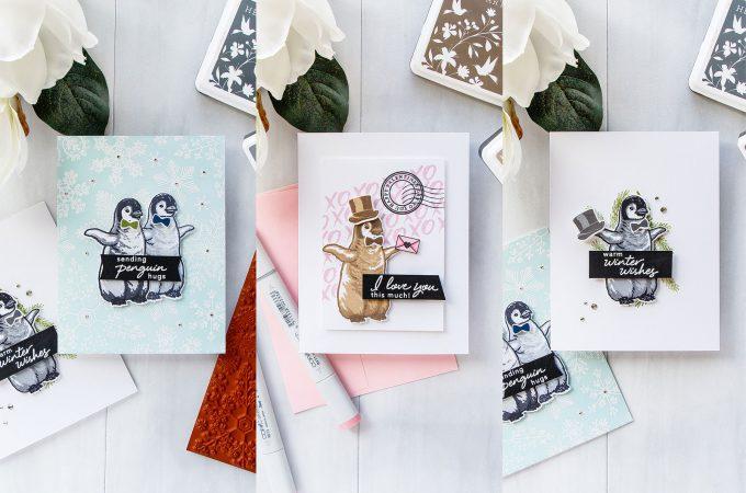 Hero Arts   Color Layering With Yana Video Series – Color Layering Baby Penguin 4 Ways