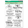 Penny Black Clear Stamps Forever and Always