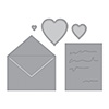 Spellbinders Love Letter Dies
