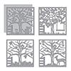 Spellbinders Four Seasons Silhouettes Dies by Lene Lok