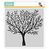 Simon Says Cling Rubber Stamp Brushed Branches Background
