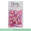 Pretty Pink Posh Spring Blooms Sequin Mix