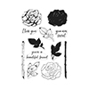 Hero Arts Stamps Color Layering Rose