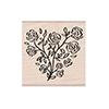 Hero Arts Stamp Rose Heart