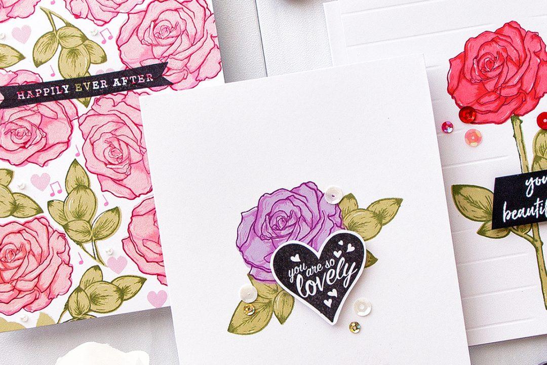 Hero Arts | Color Layering With Yana Series – Color Layering Rose