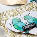 Hero Arts   Heart Shaped Tags + Cards. Video. January My Monthly Hero Blog Hop. You're my tweetheart card by Yana Smakula #heroarts #mmh #stamping