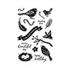 Hero Arts Clear Stamps a Little Birdie Told Me