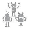 Spellbinders Robots Dies