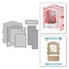 Spellbinders Grand Cabinet 3D Card Dies