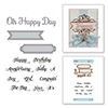 Spellbinders Oh Happy Day Stamp and Die Set