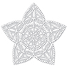 Simon Says Stencils Christmas Star Stencil